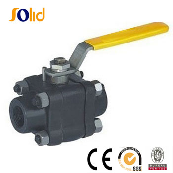 3PCS Forged Steel Ball Valve